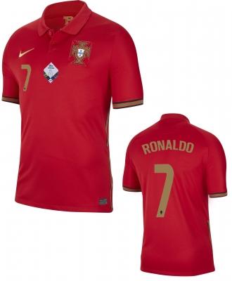 PORTUGAL RONALDO HOME SHIRT 2020-21