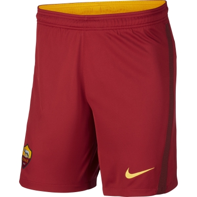 AS ROMA HOME RED SHORTS 2020-21