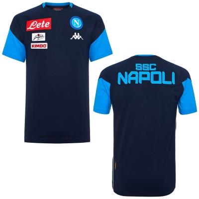 SSC NAPOLI T-SHIRT BAMBINO BLU 2017-18