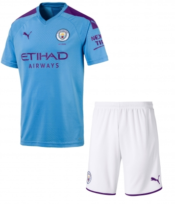 MANCHESTER CITY JUNIOR HOME KIT 2019-20
