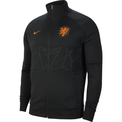 NETHERLANDS I96 PRESENTATION BLACK JACKET 2020-21