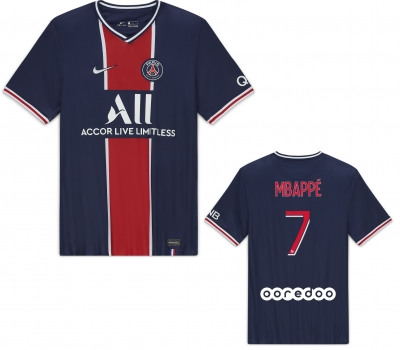 PSG MBAPPE JUNIOR HOME SHIRT 2020-21