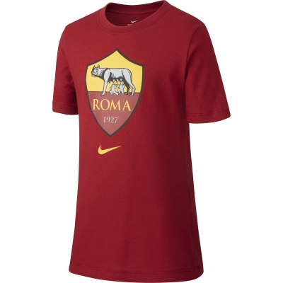 AS ROMA T-SHIRT BAMBINO ROSSA 2019-20