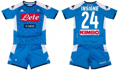 SSC NAPOLI INSIGNE YOUTH JUNIOR HOME KIT 2019-20