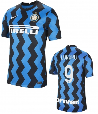 INTER LUKAKU JUNIOR HOME SHIRT 2020-21