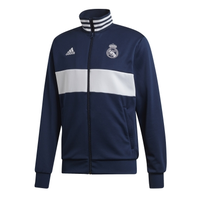 REAL MADRID TRACK BLUE JACKET 2019-20
