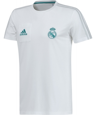 REAL MADRID T-SHIRT BIANCA 2017-18