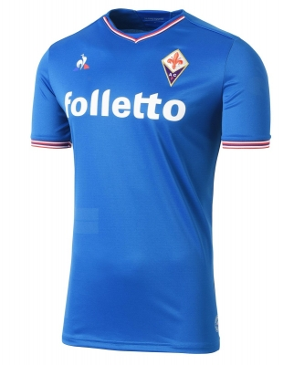 FIORENTINA AWAY BLUE SHIRT 2017-18