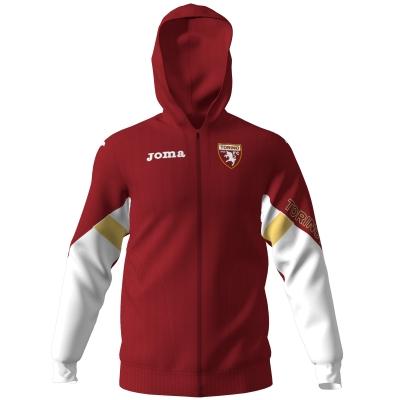 FC TORINO FELPA CAPPUCCIO ZIP 2019-20