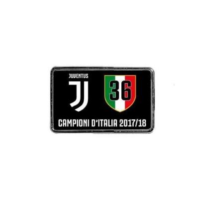 JUVENTUS ITALY CHAMPION 2017-18 PIN