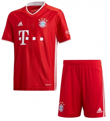 BAYERN MUNICH JUNIOR HOME KIT 2020-21