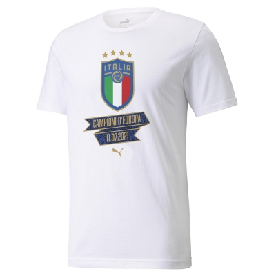 ITALIA FIGC JUNIOR T-SHIRT EUROPE 2021 WINNER delivery 29 July