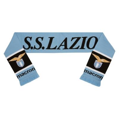 SS LAZIO SCIARPA TUBOLARE AZZURRA-NERA  2019-20