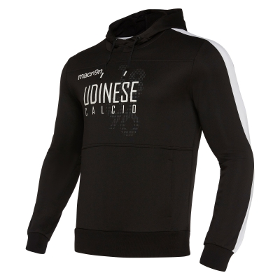 UDINESE HOODY BLACK SWEAT 2019-20
