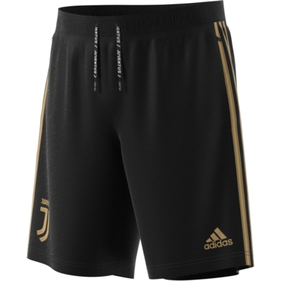 JUVENTUS WOVEN BLACK-GOLD SHORTS 2018-19