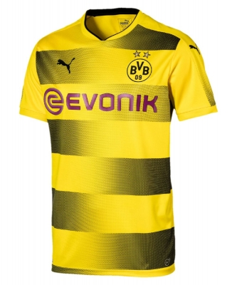 BORUSSIA DORTMUND HOME JUNIOR SHIRT 2017-18