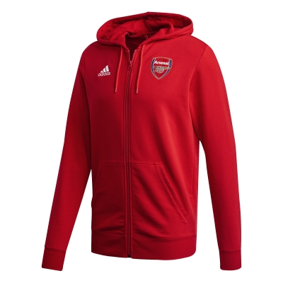 ARSENAL FELPA CAPPUCCIO ZIP 2020-21