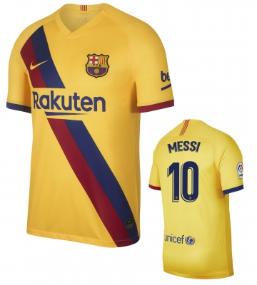 BARCELONA MESSI AWAY SHIRT 2019-20