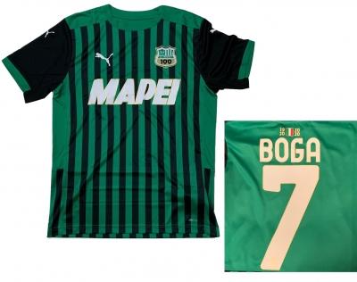SASSUOLO MAGLIA BOGA BAMBINO 2020-21