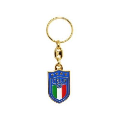 ITALIA FIGC PORTACHIAVI IN METALLO DORATO