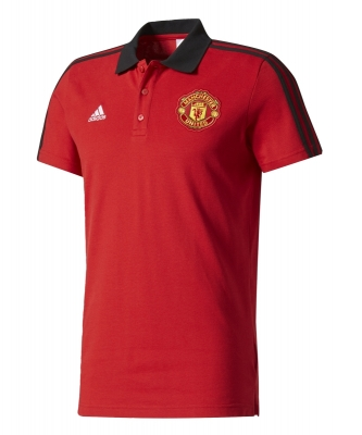 MANCHESTER UNITED RED POLO 2017-18