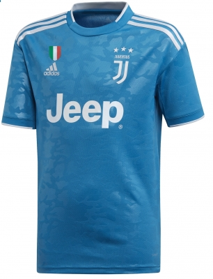 JUVENTUS 3RD BLUE SHIRT 2019-20