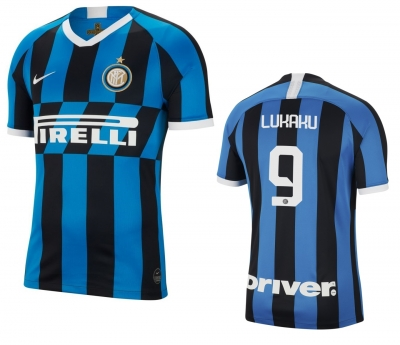 INTER LUKAKU JUNIOR HOME SHIRT 2019-20