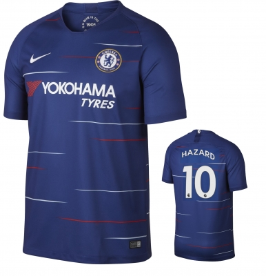 CHELSEA HAZARD HOME SHIRT 2018-19