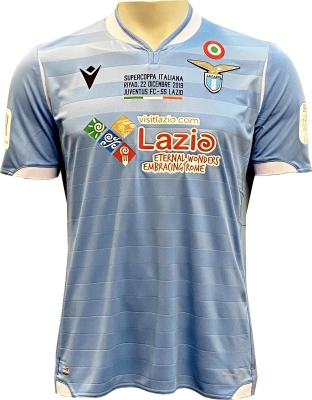 SS LAZIO ITALY SUPERCUP 2019 AUTHENTIC MATCH SHIRT