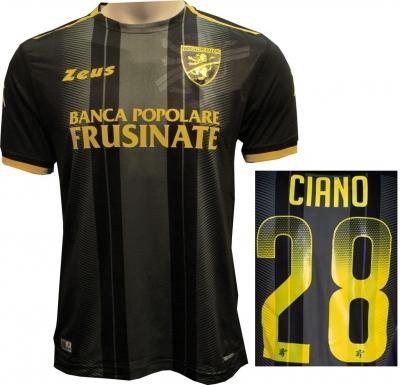 FROSINONE CIANO 3RD BLACK SHIRT 2018-19