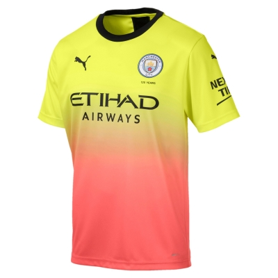 MANCHESTER CITY 3RD YELLOW SHIRT 2019-20