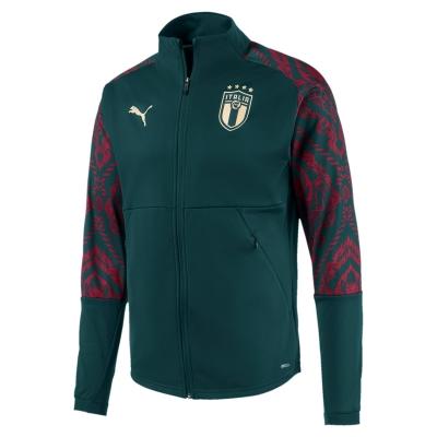 ITALIA FIGC FELPA ANTHEM VERDE 2019-20