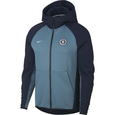 CHELSEA FELPA CAPPUCCIO ZIP TECH FLEECE 2018-19