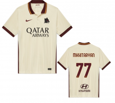 AS ROMA MKHITARYAN AWAY SHIRT 2020-21