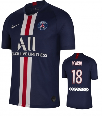 PSG 18-ICARDI HOME FOOTBALL SHIRT 2019-20