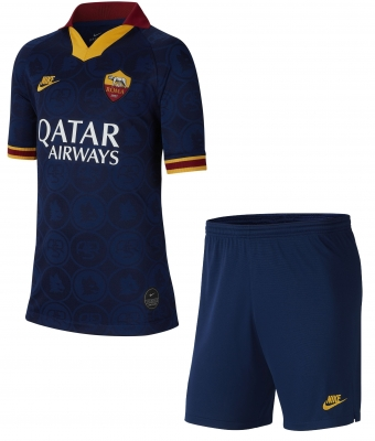 AS ROMA JUNIOR 3RD NAVY KIT 2019-20