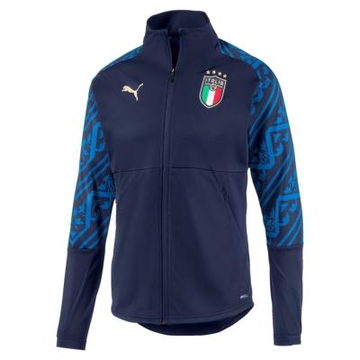 ITALIA FIGC ANTHEM NAVY JACKET 2019-21
