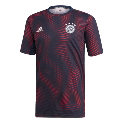 BAYERN MUNICH PREMATCH BORDEAUX SHIRT 2018-19